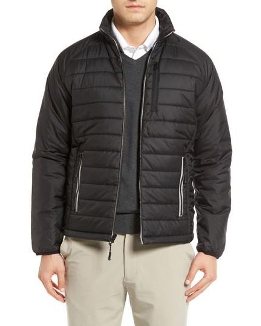 Cutter & Buck - Black Barlow Pass Quilted Jacket for Men - Lyst