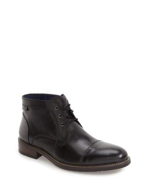Zanzara | Black 'rubano' Chukka Boot for Men | Lyst
