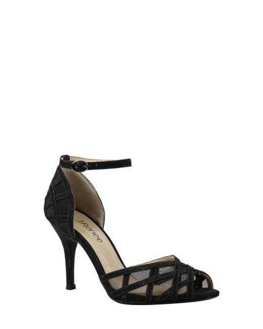 J.Renee Mataro Embellished Ankle Strap Pump (Women) uySYxiDg