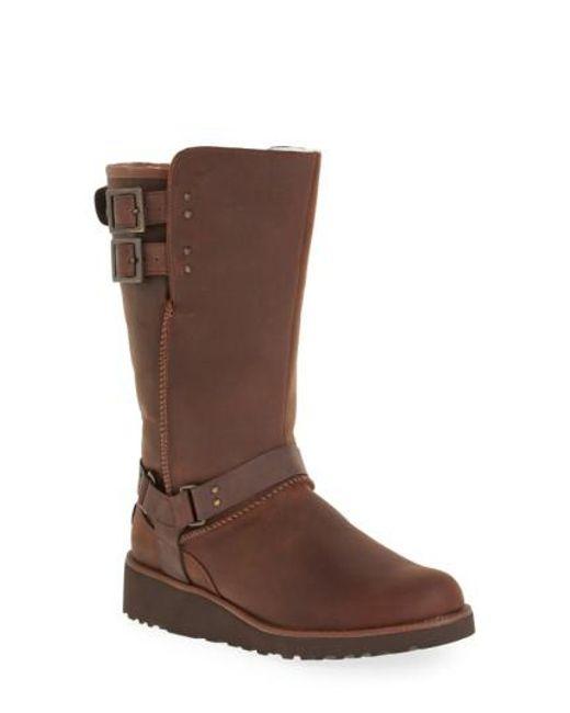 Ugg | Brown Ugg 'jasper' Water Resistant Boot | Lyst