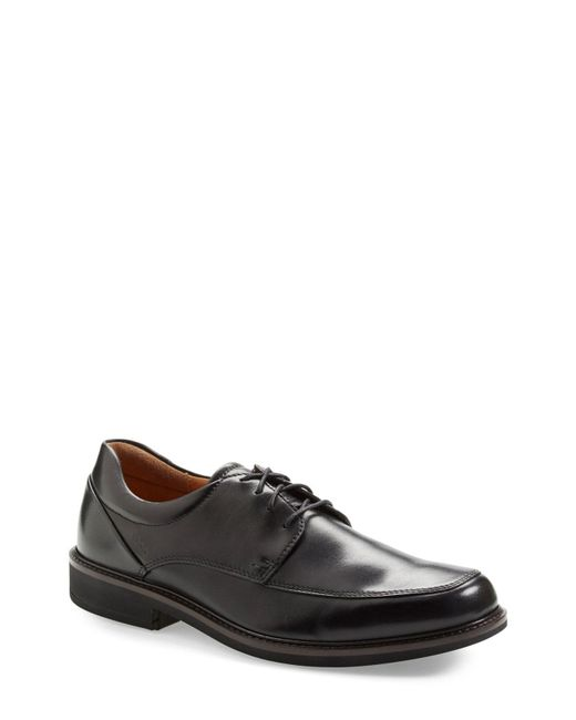 Ecco - Brown 'holton' Apron Toe Derby for Men - Lyst