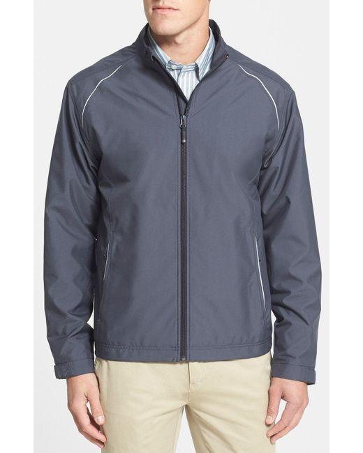 Cutter & Buck - Purple 'beacon' Weathertec Wind & Water Resistant Jacket for Men - Lyst