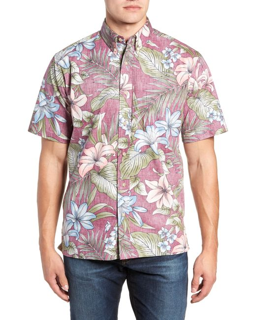 Reyn Spooner - Multicolor Uluhehi Regular Fit Sport Shirt for Men - Lyst