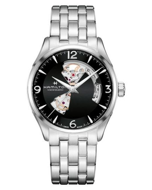Hamilton - Metallic Jazzmaster Open Heart Automatic Bracelet Watch for Men - Lyst