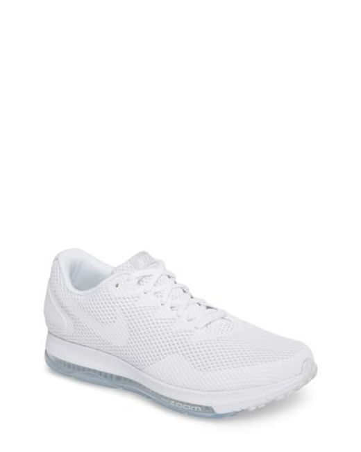 Nike   White Zoom All Out Low 2 Running Shoe   Lyst