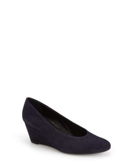 Vaneli | Blue 'Dilys' Wedge Pump | Lyst