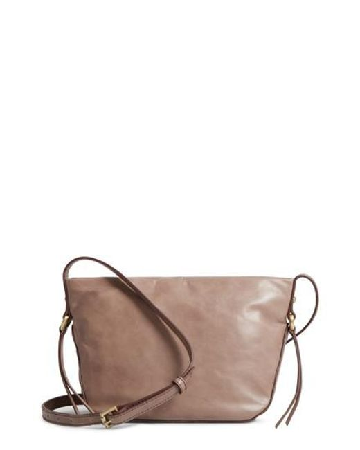 Hobo | Brown Muse Calfskin Leather Crossbody Bag | Lyst