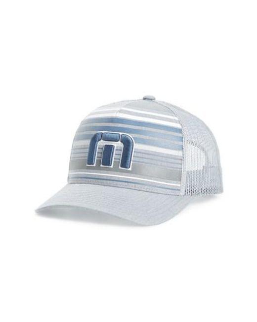 the latest d2f7f 4e0f0 ... real usa scala safari hat travis mathew blue kubiak snapback trucker hat  for men lyst e8dc7 ...