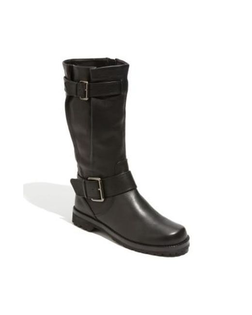 Gentle Souls   Black 'buckled Up' Boot   Lyst