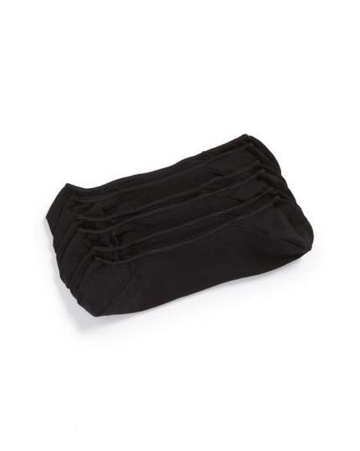 Calvin Klein - 3-pack No-show Socks, Black for Men - Lyst