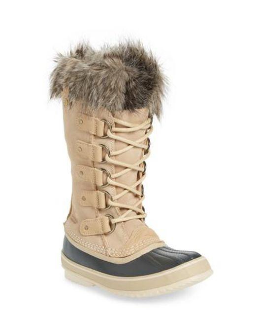 Sorel | Multicolor 'joan Of Arctic' Waterproof Snow Boot | Lyst