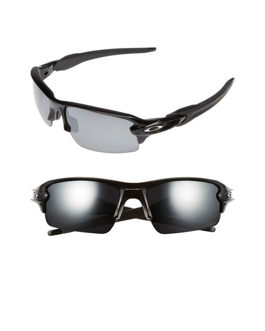 5fa09dd228 Lyst - Oakley Flak 2.0 59mm Polarized Sunglasses in Black for Men