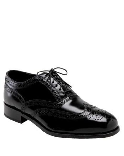 Florsheim - Black 'lexington Six-eye' Oxford for Men - Lyst
