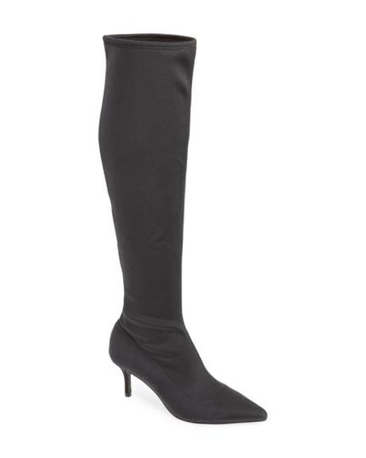 04e64b9e8ec Lyst - Charles David Aerin Over The Knee Boot in Black