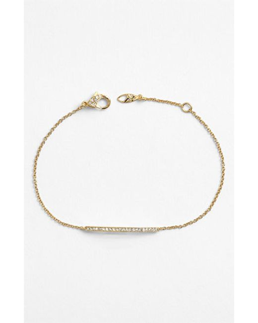 Nadri | Metallic Bar Station Bracelet (nordstrom Exclusive) | Lyst