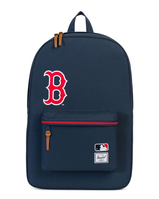 Lyst - Herschel Supply Co. Heritage Boston Red Sox Backpack in Red ... 283429fed8984