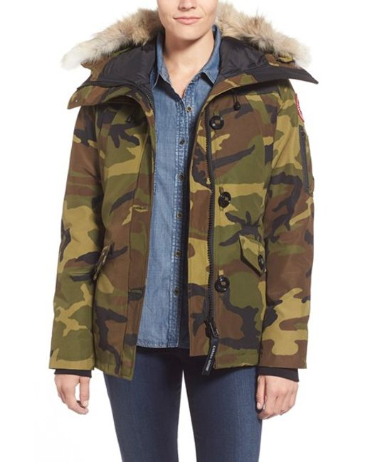 Canada Goose | Green Camp Quilted Jacket | Lyst