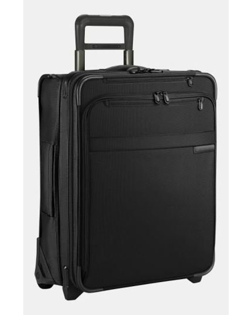 Briggs & Riley   Black 'baseline' International Expandable Rolling Carry-on for Men   Lyst
