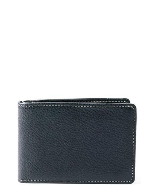 Boconi | Black 'tyler' Rfid Slimster Wallet for Men | Lyst