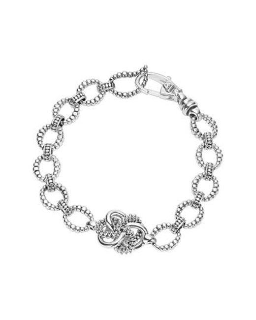 Lagos - Metallic 'love Knot' Link Bracelet - Lyst