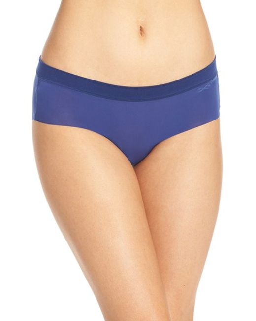 DKNY | Blue 'fusion' Hipster Briefs | Lyst