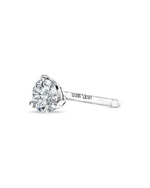 Bony Levy   Metallic Single Diamond Stud Earring (nordstrom Exclusive)   Lyst