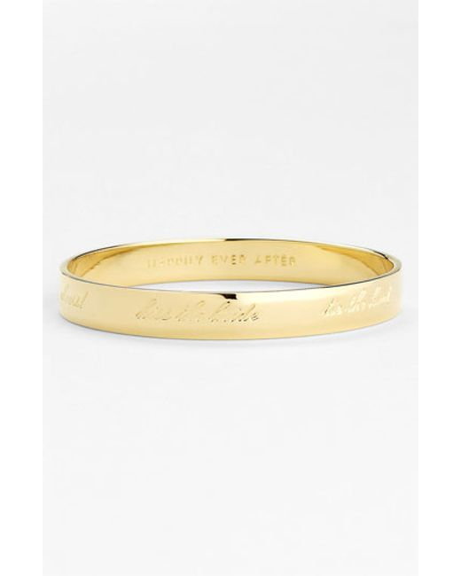 Kate Spade | Metallic 'idiom - Happily Ever After' Bangle | Lyst