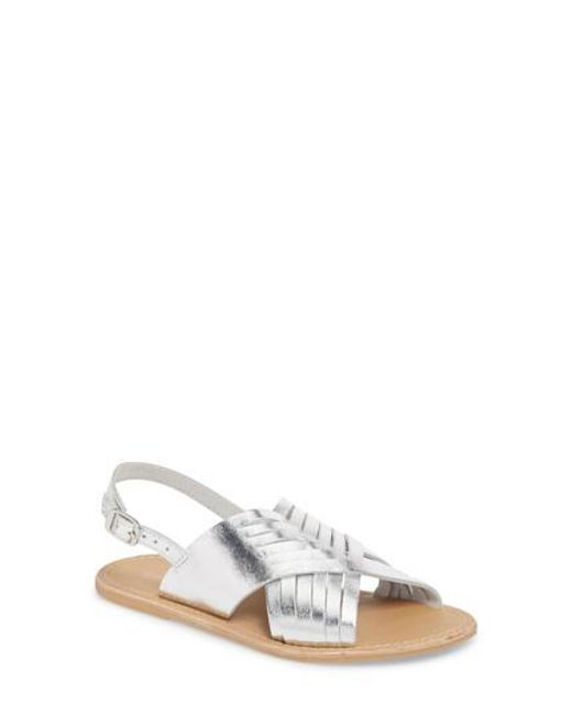 Topshop Women's Hottie Cross Strap Flat Sandal 70LLU