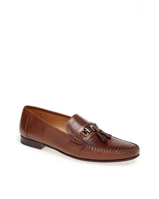 Mezlan | Brown 'cafaro' Tassel Loafer for Men | Lyst