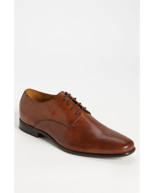 Gordon Rush | Black 'manning' Derby for Men | Lyst