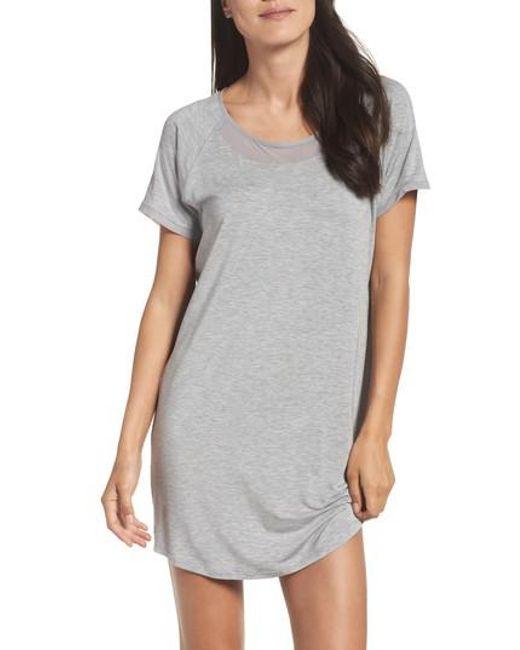Naked | Gray Sleep Shirt | Lyst