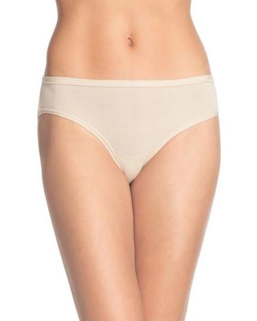 Wacoal | Natural 'b Fitting' Bikini | Lyst