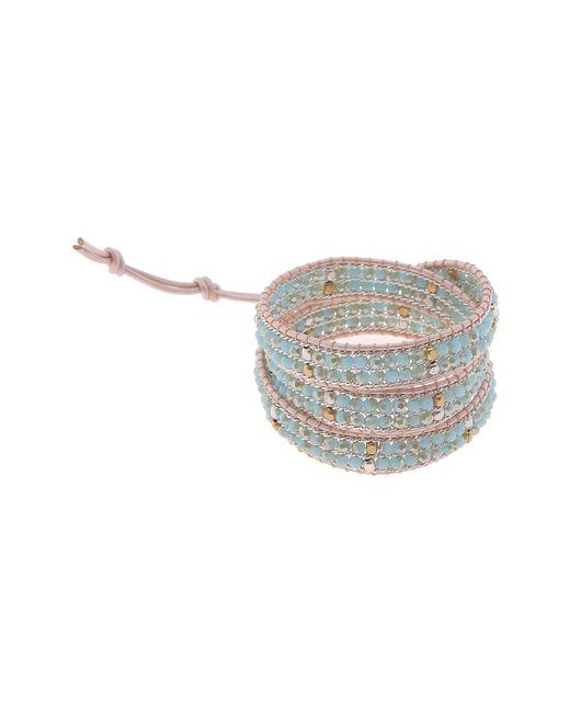 Nakamol - Multicolor Beaded Wrap Bracelet - Lyst