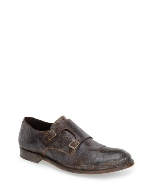 Sendra | Brown Boots 'friar Tuk' Double Monk Strap Shoe for Men | Lyst
