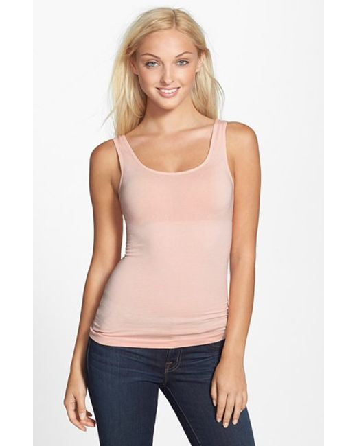Yummie By Heather Thomson | Pink 'stephanie' Shaping Tank | Lyst