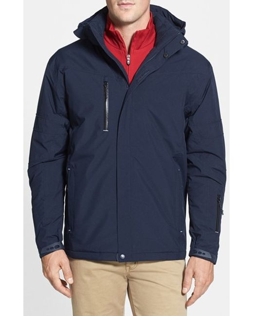 Cutter & Buck | Blue Weathertec Sanders Jacket for Men | Lyst