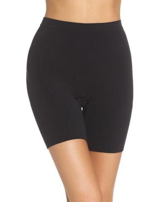 Spanx - Black Spanx Power Short Mid Thigh Shaper - Lyst