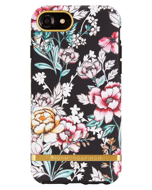 RICHMOND AND FINCH - Multicolor Richmond & Finch Floral Print Iphone 6/6s/7/8 & 6/6s/7/8 Plus Case - - Lyst