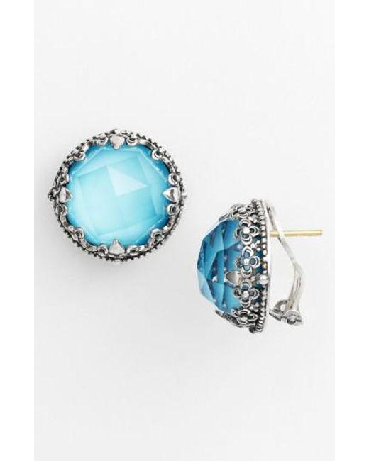 Konstantino | Blue 'aegean' Stud Earrings | Lyst