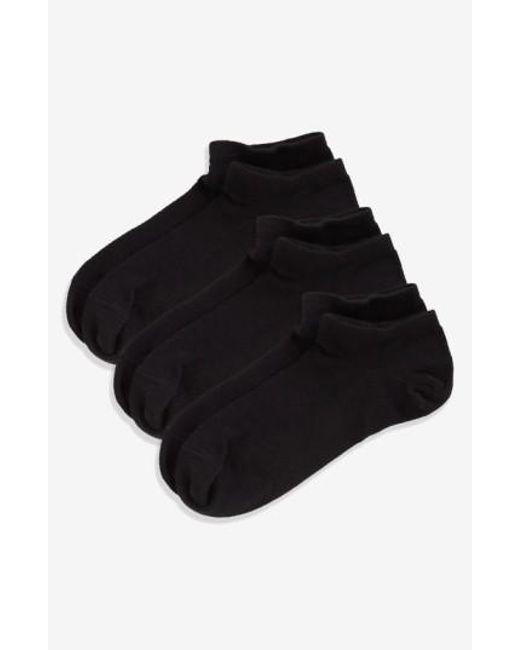 Zella | Fitness 3-pack Liner Socks, Black | Lyst