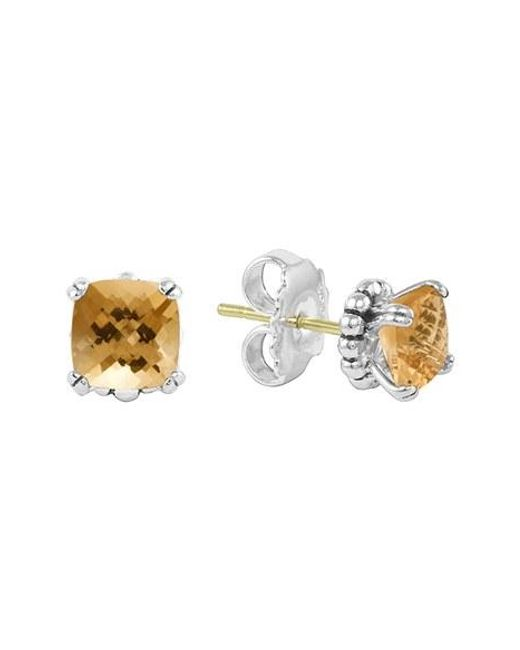 Lagos | Metallic 'prism' Stud Earrings | Lyst