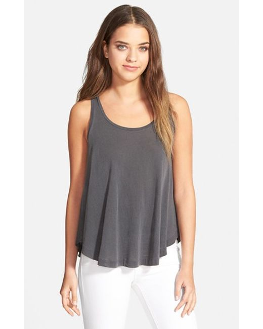 Splendid | Gray Swing Tank | Lyst