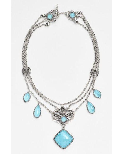 Konstantino | Metallic 'aegean' Frontal Necklace | Lyst