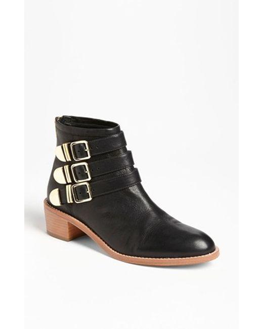 loeffler randall fenton boot in black lyst