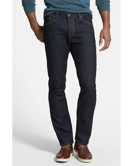 AG Jeans | Blue 'graduate' Slim Straight Leg Jeans for Men | Lyst