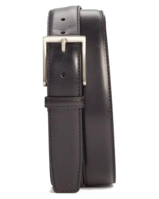 Magnanni Shoes | Black Catania Leather Belt for Men | Lyst