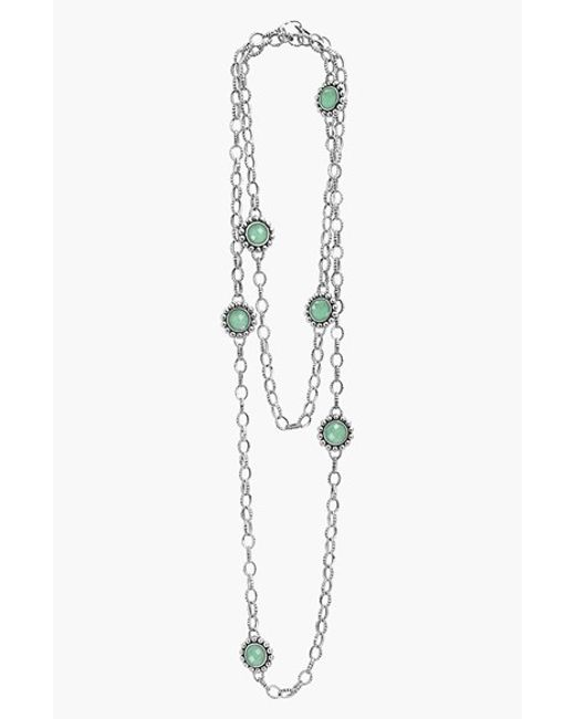 Lagos | Blue 'maya' Long Station Necklace | Lyst