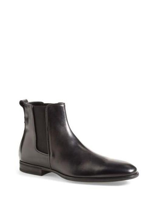 Aquatalia | Black 'adrian' Weatherproof Chelsea Boot for Men | Lyst