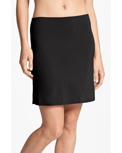 Calvin Klein | Black Half Slip | Lyst
