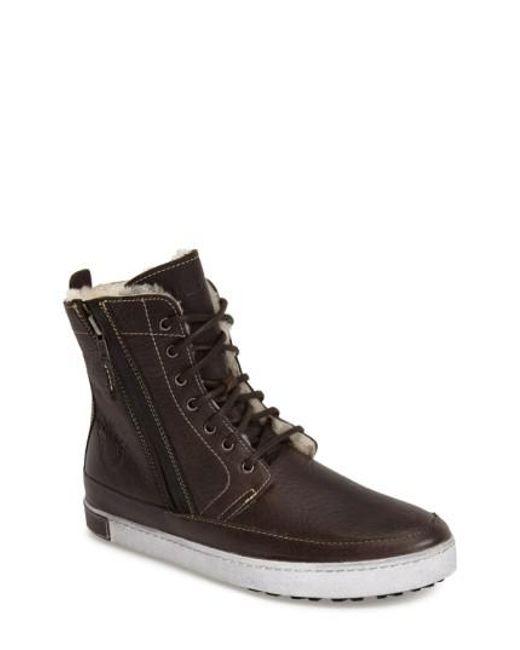 Blackstone | Brown 'gm05' High Top Sneaker for Men | Lyst